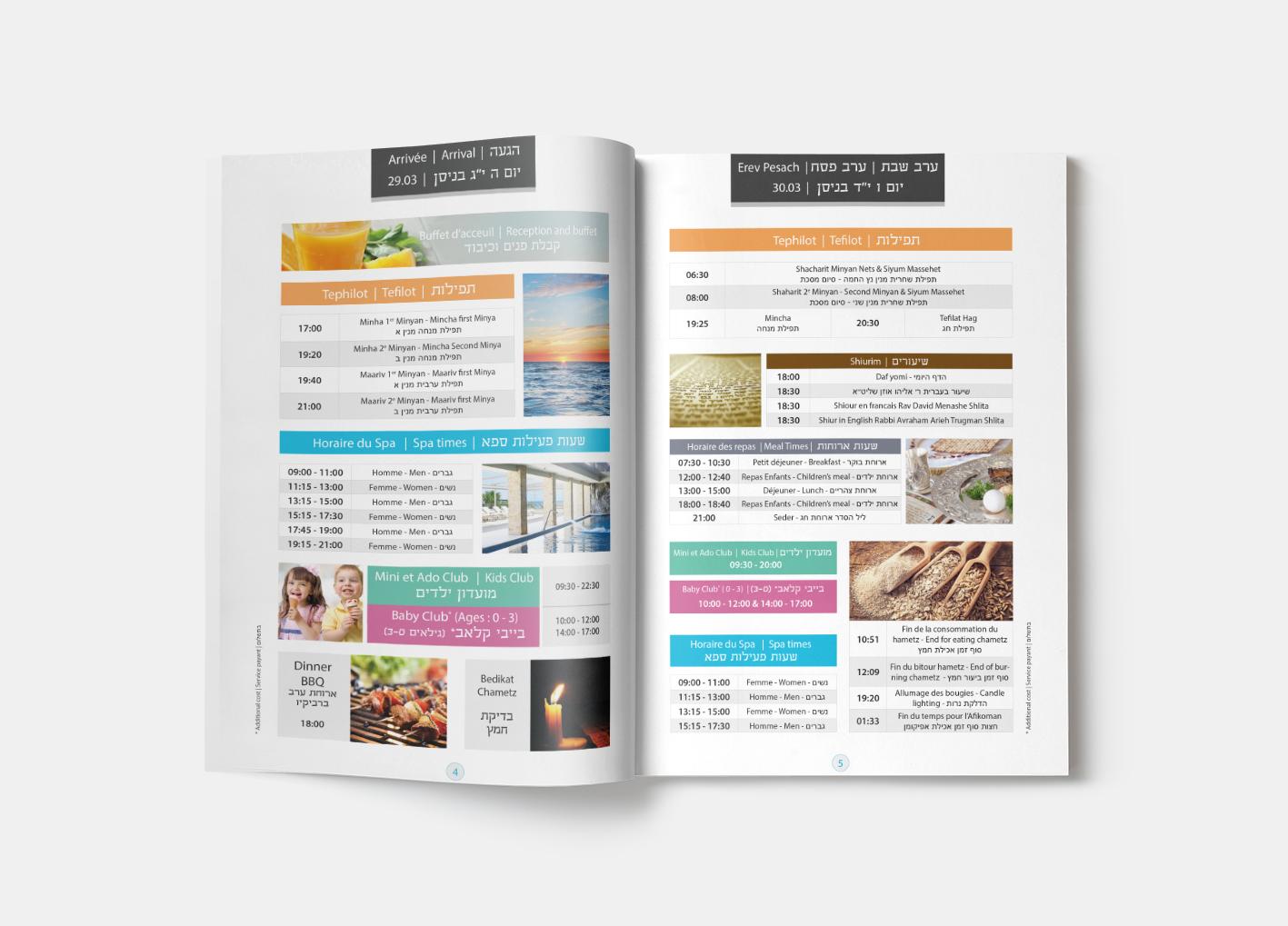 Brochure Programme – MENACO LOISIRS